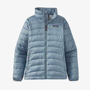 Patagonia down sweater jacket Berlin blue girls XL